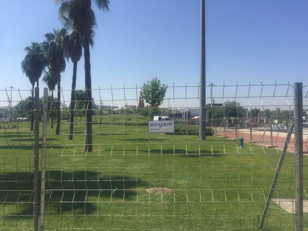 Vallas en Feria de Córdoba 2016 - Parque del avión